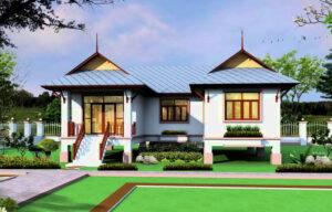บ้านทรงไทยประยุกต์